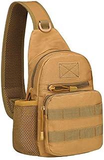 حقيبة كتف عسكرية تكتيكية مع حمالة للتخييم والسفر والرياضة في الهواء الطلق