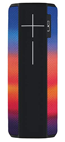 Ultimate Ears Megaboom Tragbarer Bluetooth-Lautsprecher, Satter Tiefer Bass, Wasserdicht, App-Navigation, Kann mit weiteren Lautsprechern verbunden werden, 20-Stunden Akkulaufzeit - radiance/schwarz