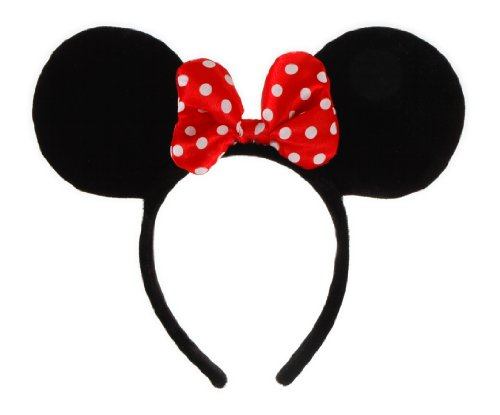 Price comparison product image Elope Disney Minnie Mouse Costume Ears Headband with Bow