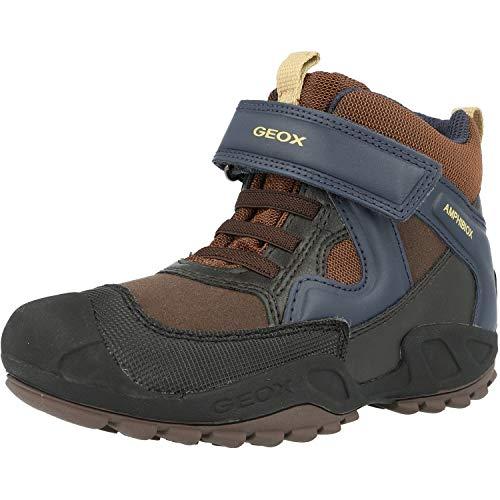 Geox Jungen J New Savage Boy B A Hohe Sneaker