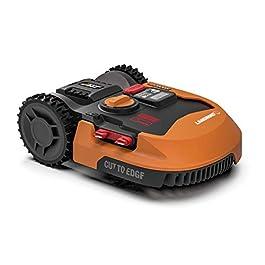 WORX – Tondeuse Robot connectée sans Fil LANDROID – WR155E – jusqu'à 2000m² (Installation Facile, tond sous la Pluie…