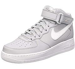 Nike Men's Air Force 1 MID 07, BlackBlack Black, 7 M US