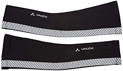 VAUDE Armlinge Luminum Arm Warmer II, Reflektierende Armlinge, black, M/L, 417950105400