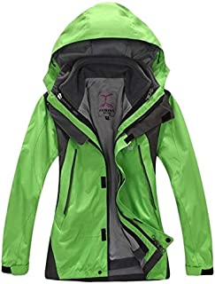 BEESCLOVER New Winter 3 in 1 Kids Hiking Jackets Children Boys Girls Outdoor Windproof Warm Two-Piece Coat Travelling Hiking 110-160