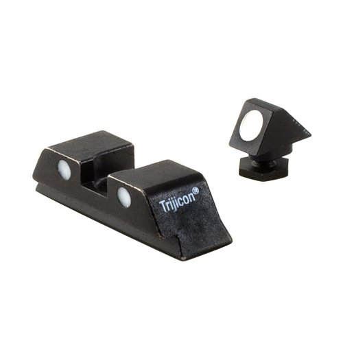 Trijicon GL05 Bright & Tough Steel Sight Set for All Glock Models, NO TRITIUM