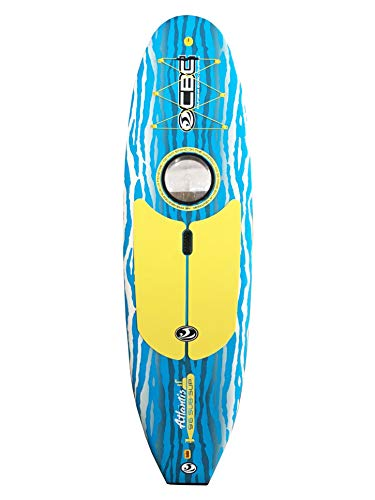 California Board Company 9'6 Atlantis Window SUP Package, Aqua...