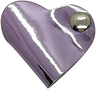 Porta auricolari Artigianale Vera Pelle – custodia avvolgi cavo ricarica cellulare (Rosa specchio) - MADE IN ITALY