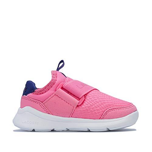 Lacoste Mädchen-Sneaker LT Dash Slip, Pink / Violett, Pink - rosa / purpur - Größe: 24 EU