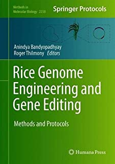Rice Genome Engineering and Gene Editing: Methods and Protocols