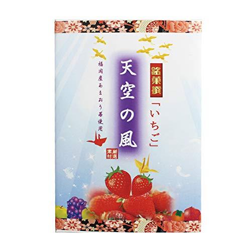 天空の風 いちご小箱 6個入×4箱 イソップ製菓 熊本産小麦粉使用カステラ生地で特製あんを手巻きにした郷土菓子 仏事用