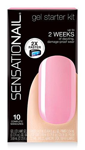 Sensationail - Kit Starter Esmalte Permanente Gel Pink Chiffon