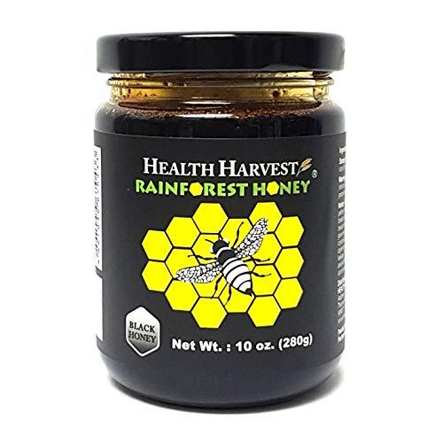 Tualang Schwarzer Honig 280g | Mehrfach preisgekrönt | Gesamtaktivität 10+ | Pollen 100+ | Intensive Wahl für Therapie & Rehabilitation | Vom tropischen Regenwalderbe von Sumatra
