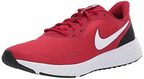 Nike Men's Revolution 5 Running Shoe, Gym Red/Whiteblack, 9 Regular US