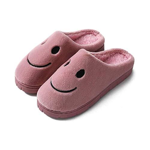 AGGF Zapatillas de Felpa de Invierno para Mujer, Zapatillas cómodas, Piel Ultra Suave, cómoda, mullida, cálida, Satinada, Espuma viscoelástica, Suela Antideslizante, Invierno para Mujer