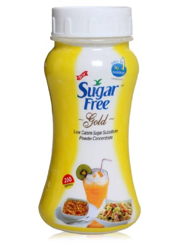 Sugar Free Gold is Equal to Zero Calories Low Calorie Sugar Substitute Powder Concentrate Table Top Sweetener 100g (3.5 Oz)