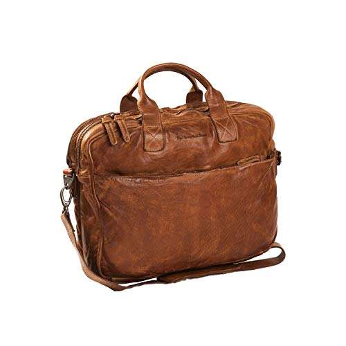 The Chesterfield Brand Amsterdam Computerbag Cognac