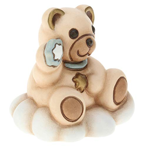 THUN ® - Teddy Bimba Mini su Nuvola - Ceramica -