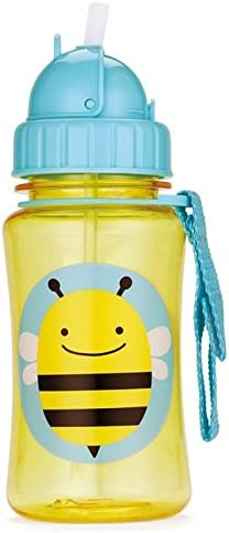 Skip Hop Zoo Straw Bottle, Narwhal