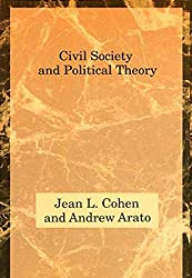 "This image is of a book cover, ""Civil Society and Political Theory,"" by Jean L. Cohen and Andrew Arato."