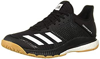 adidas Women s Crazyflight X 3 Volleyball Shoe Black/White/Gum 9 M US