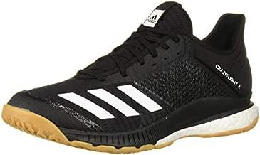 adidas Women's Crazyflight X 3 Volleyball Shoe, Black/White/Gum, 9 M US