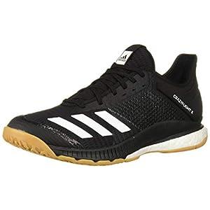 adidas Women's Crazyflight X 3 Volleyball Shoe, Black/White/Gum, 8.5 M US