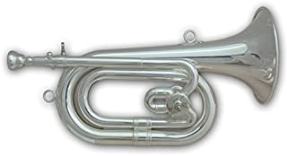 Tuyama® SPH-501 Spanish Bugle in Do/Re bemol (C/Db) argentado cuerno español