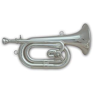 Tuyama® SPH-501 Spanish Bugle in C / Db (silver plated):Donald-trump