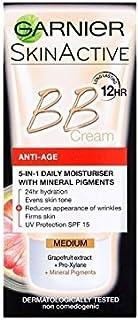 Garnier BB Cream Anti-Ageing Medium 50ml (Pack of 6)