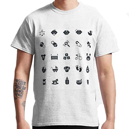 Myofic hombres cuello redondo camiseta personalizada camiseta algodón camiseta ropa cómoda