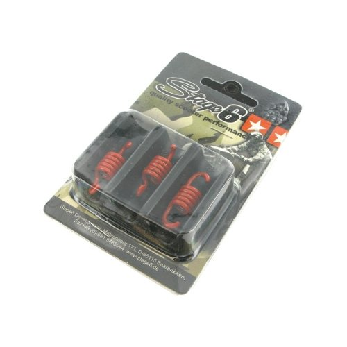 Kupplungsfedern für Stage6 Torque Control Kupplung, 3 Stück, rot - hart
