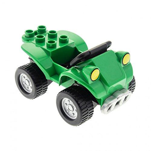 1 x Lego Duplo Auto Quad grün schwarz PKW Fahrzeug Jeep 54007 54005pb05