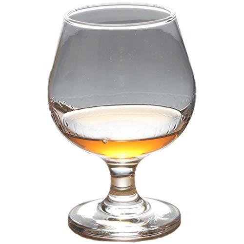 ESTK Copa De Cristal Para Vino Tinto, Copas De Whisky, Copas De Cristal De Imitación Para Brandy, Licores - #6(320ml)