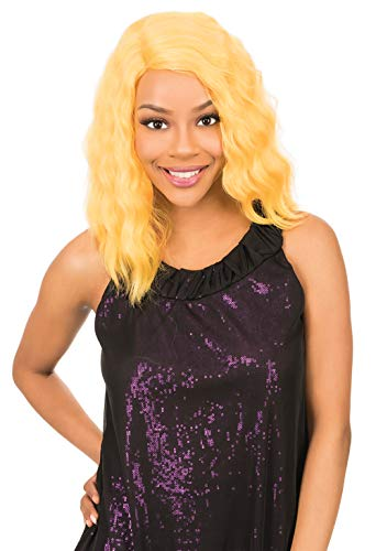 New Born Free Synthetic Full Wig - CUTIE WIG COLLECTION WAVY CT156 (DYX4/SUNNYGOLD)
