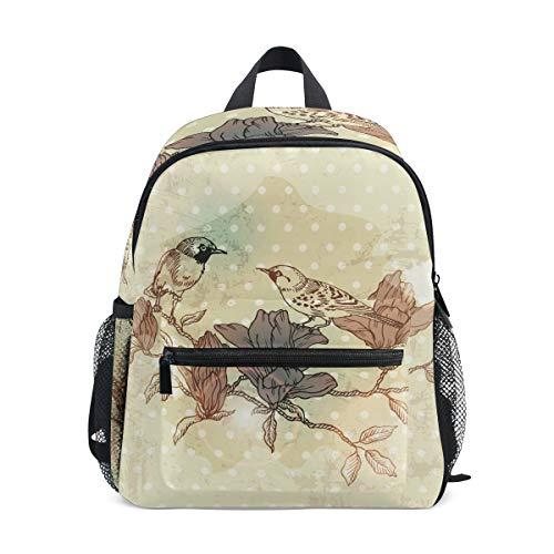 Mjiymze2nzk3chpha0o3s1vktwv0 Toddler Backpack Bookbag Mini Shoulder Bag for 1-6 Years Travel Boys Girls Kids with Chest Strap Clip Whistle