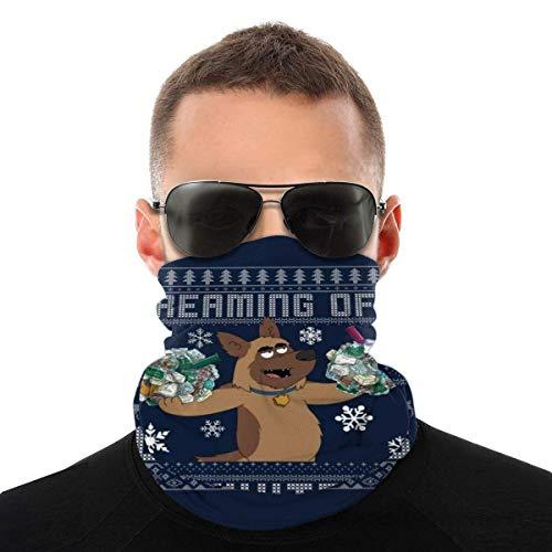 Tr?ume von una bola de Navidad blanca Paraíso Pd Diversidad Pañuelo para la cabeza, protección facial Magic Headwear Neck Gaiter cara bandana bufanda