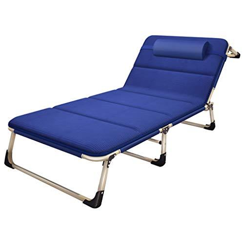 Zero Gravity Lounge Chair Fauteuil inclinable et inclinable réglable Chaise longue Lit bébé Camping Plage de sable Chaise longue (Couleur : Chair+cushion)