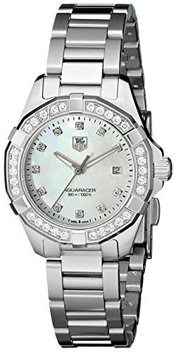TAG Heuer Reloj de mujer cuarzo 27mm correa y caja de acero WAY1414.BA