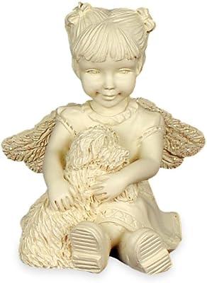 AngelStar 2-Inch Mountain Angel Figurine, Furry Friend