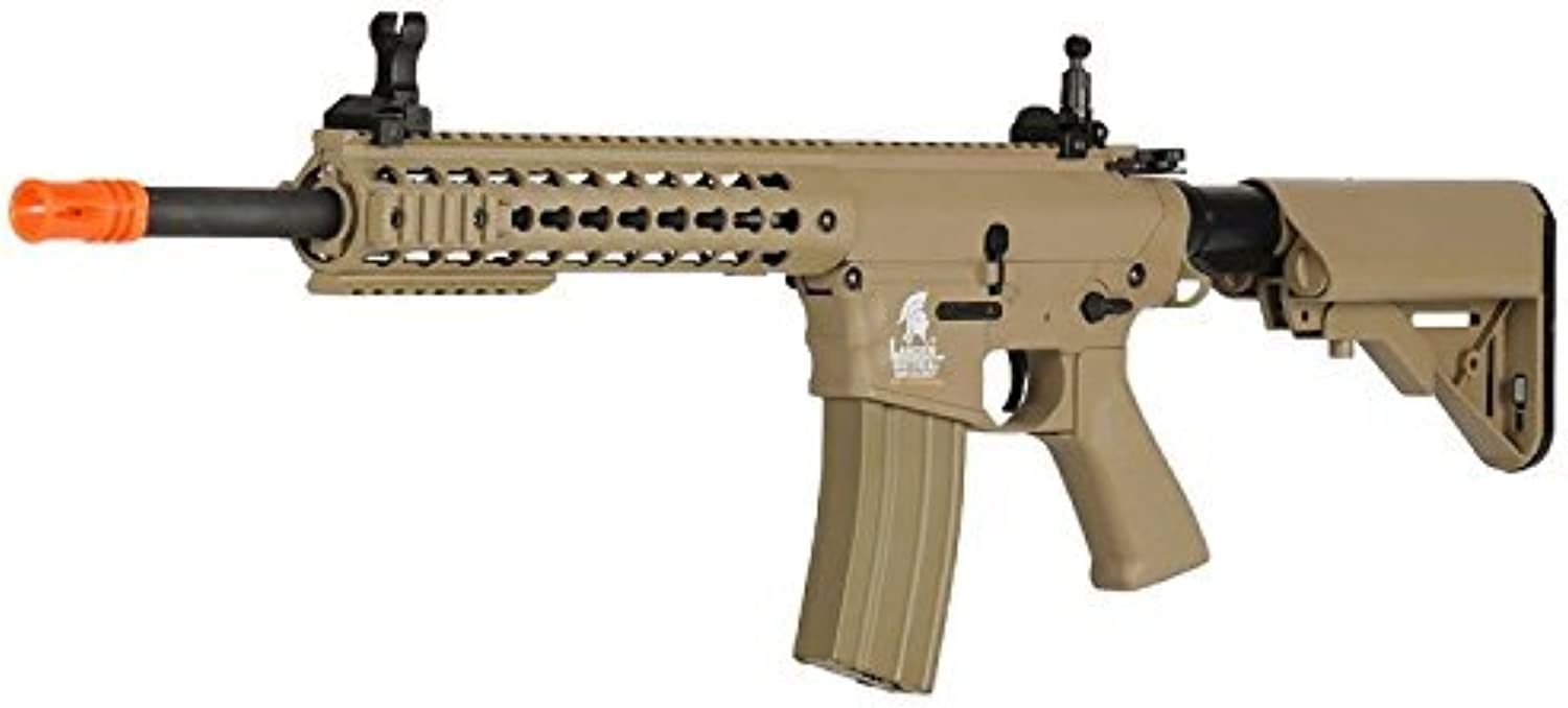 Lancer Tactical Full Metal Gear with Free Float Rail Polymer Body LT12TK by Lancer Tactical