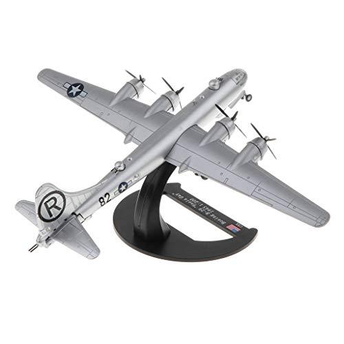 dailymall Modelo de Bombardero Pesado de Aleación Diecast Superfortress 1/200 - Avión de Combate Estadounidense BOE Ing B-29 Gay - Soldado de Juguete Mode
