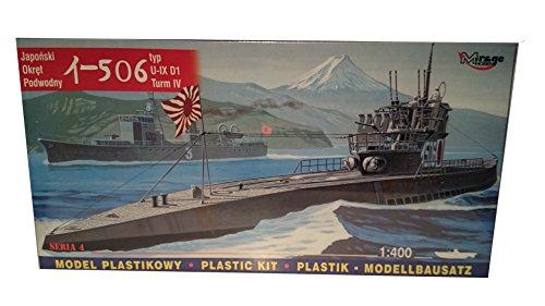 Mirage Hobby 40046 - Japanisches U-Boot I-506, IX D1, Schiff