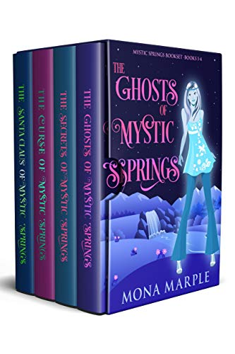 Mystic Springs Paranormal Cozy Mystery Series: Box Set: Books 1-4 by [Mona Marple]