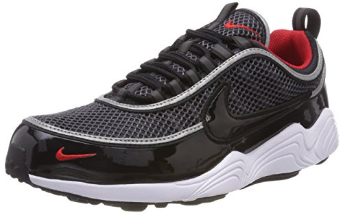 Nike Air Zoom Spiridon '16, Scarpe da Ginnastica Uomo, Nero (Black/Black/University Red/White 006), 44 EU