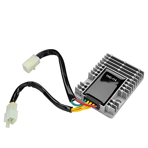 Regulador de voltaje de 12V Rectificador de corriente para Kymco Downtown 125 200 300 personas 125 200 250 300 Quannon150 Dink 200 Venax Xciting