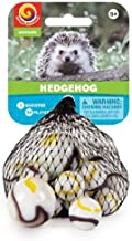 Mega Marbles Marble Net - Hedgehog. Includes 1 Shooter Marble and 24 Player Marbles