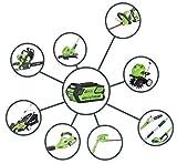 Greenworks Tools-Tagliasiepi 22637TVA senza fili 61 cm con batteria 2 Ah e caricatore da 40 V