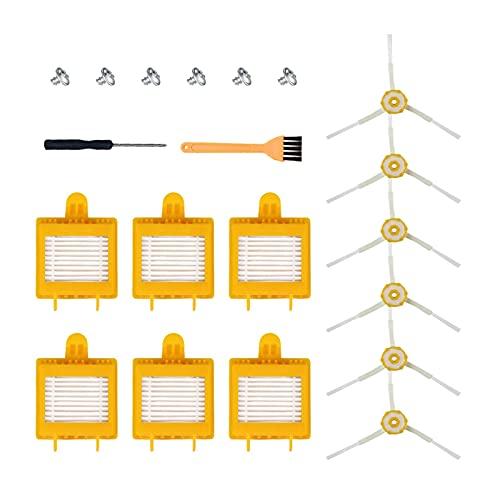 LINGLING Peter LI Kit de reemplazo Pinceles Filtros Fit para Irobot Roomba 700 Series 760 770 772 774 775 776 780 782 785 786 790 Piezas de aspiradora (Color : SMT201)