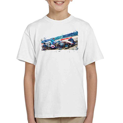 Motorsport Images Kimi Raikkonen McLaren Merc MP420 Kid's T-shirt
