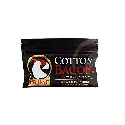 Wick N Vape Cotton Bacon Prime 10g - 2,50 EUROS DE AHORRO EN CADA PRODUCTO ADICIONAL SOLO VENDIDO Y ENVIADO POR EL VENDEDOR VAPOR CENTER